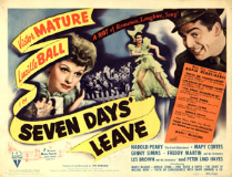 Seven Days Leave 1942 DVD - Victor Mature / Lucille Ball